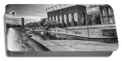 Portable Battery Charger featuring the photograph Canal Walk by Howard Salmon
