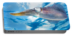 Caribbean, Reef Squid Sepioteuthis Portable Battery Charger