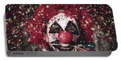 Carnival Clown With Balloon Cake Decoration Portable Battery Charger
