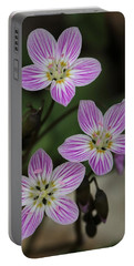 Carolina Spring Beauty Portable Battery Charger