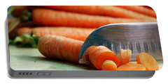 Carrots Portable Battery Charger by Joseph Skompski