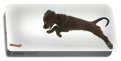 Chocolate Cocker Spaniel Puppy Portable Battery Charger