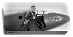 Chuck Yeager And Bell X-1 Portable Battery Charger