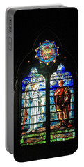 Church Of The Covenant Stained Glass 11 Portable Battery Charger