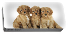 Cockapoo Puppy Dogs Portable Battery Charger