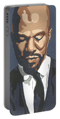 Portable Battery Charger featuring the painting Common by Rachel Natalie Rawlins