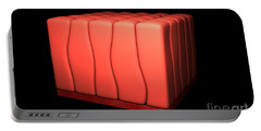 Conceptual Image Of Simple Columnar Portable Battery Charger