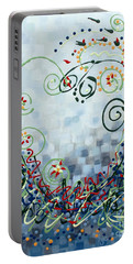 Crazy Love Jazz Portable Battery Charger by Holly Carmichael