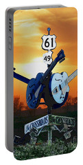 Crossroads Sunset  Blues Highway 61 Portable Battery Charger