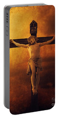 Crucifixcion Portable Battery Charger