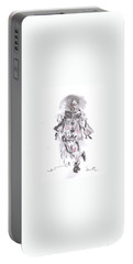 Dancing Clown Portable Battery Charger by Laurie L