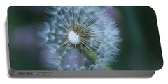 Dandelion Portable Battery Charger by Alana Ranney