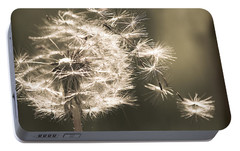 Portable Battery Charger featuring the photograph Dandelion by Yulia Kazansky