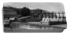 Daniel Pratt Cotton Mill Dam Prattville Alabama Portable Battery Charger by Charles Beeler