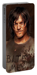Daryl - Bite Me Portable Battery Charger