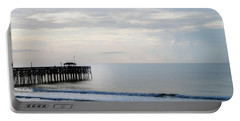 Portable Battery Charger featuring the photograph Daybreak At Pawleys Island by Frank Bright