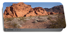 Desert Rock Formations Portable Battery Charger