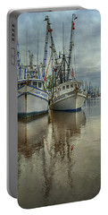 Docked Portable Battery Charger by Priscilla Burgers