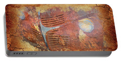Portable Battery Charger featuring the photograph Dodge In Rust by Larry Bishop