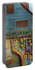 Dream Garden Portable Battery Charger by Laurie Morgan