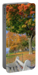Dressed In Autumn Portable Battery Charger