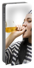 Drinking Detainee Portable Battery Charger by Jorgo Photography - Wall Art Gallery