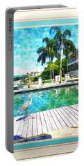 Dry Dock Bird Walk - Digitally Framed Portable Battery Charger