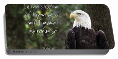 Eagle Scripture Portable Battery Charger