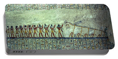 Egyptian Hieroglyphs On The Wall, Tomb Portable Battery Charger