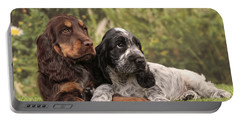 English Cocker Spaniel Puppies Portable Battery Charger