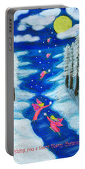 Faery Merry Christmas Portable Battery Charger