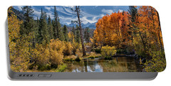 Fall At Bishop Creek Portable Battery Charger