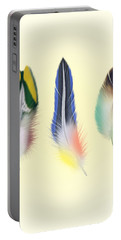 Feathers Portable Battery Charger