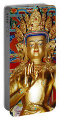 Five Dhyani Buddhas Portable Battery Charger by Lanjee Chee