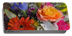 Floral Bouquet 5 Portable Battery Charger