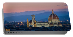 Florence At Sunset Portable Battery Charger