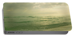 Portable Battery Charger featuring the photograph Florida Beach by Charles Beeler