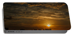 Portable Battery Charger featuring the photograph Florida Sunset by Jane Luxton
