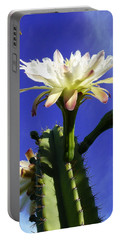 Flowering Cactus 3 Portable Battery Charger by Mariusz Kula