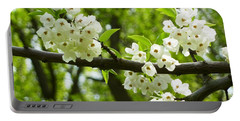 Portable Battery Charger featuring the photograph Flowers In The Spring by Mike Ste Marie