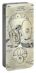 1927 Football Helmet Patent Portable Battery Charger