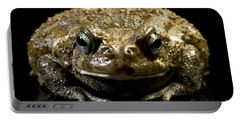 Portable Battery Charger featuring the photograph Frog by Gunnar Orn Arnason