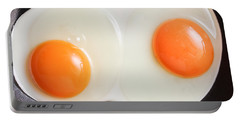 Frying Eggs Portable Battery Charger