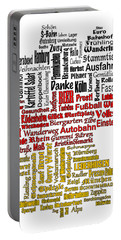 Germany Map Portable Battery Charger