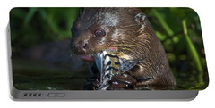 Giant Otter Pteronura Brasiliensis Portable Battery Charger
