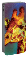 Giraffe Abstract Portable Battery Charger