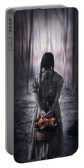 Girl In The Woods Portable Battery Charger