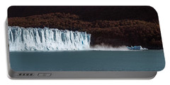 Glaciers In A Lake, Moreno Glacier Portable Battery Charger