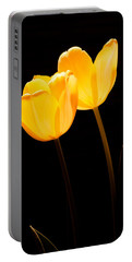 Glowing Tulips II Portable Battery Charger