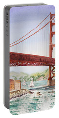 Golden Gate Bridge San Francisco Portable Battery Charger